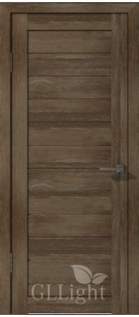 Дверь ВФД GL Light 6 Дуб трюфель (ДГ) снаружи