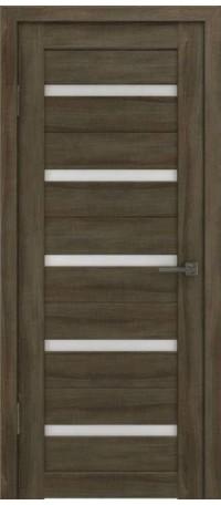 Дверь ВФД GL Light 7 Дуб трюфель/Сатинат матовое (ДО) снаружи