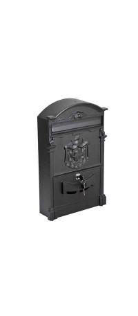 Почтовый ящик К-31091-2 Черный снаружи