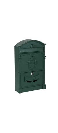 Почтовый ящик К-31091Ф-2 Зеленый снаружи