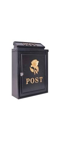 Почтовый ящик К-РТ24G Черный снаружи