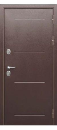СЕЙФ-ДВЕРЬ MODENA DOOR С ТЕРМОРАЗРЫВОМ «ТЕРМО ПЛАСТ» Венге внутри