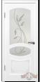 Дверь Владимирская фабрика дверей 'ВЕРСАЛЬ' 13ДР0, белая эмаль (стекло №2)