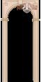 Арка межкомнатная 'ВФД', 'КЛАССИКА' цвет Беленый дуб